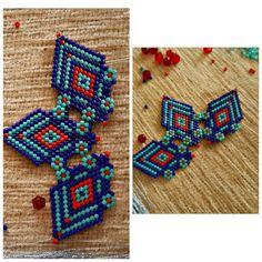 Uzunnn zaman sonra Yapmayi istediğim bir model becerebilirsem ☺😊 #kolye #jewelry #handmade #taki #kadın #aksesuar #necklace #miyuki…