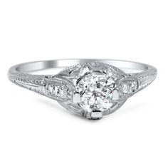 18K White Gold The Cynara Ring $3375