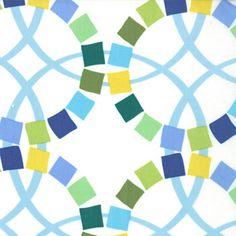 MODA Ellen Luckett Baker Metro Geometric Wedding Rings Multi