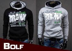 BOLF 22 - ein Sweatshirt mit einem Aufdruck, erhältlich in zwei Varianten
