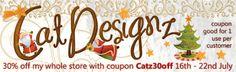 "MyMemories Blog: Meet this week's Featured Designer ""CatDesignz"""
