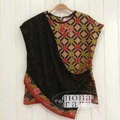 B40103 - IDR265.000 Bustline: 92cm Fabric: Batik Dobi Solo