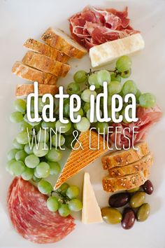 Date Idea: Wine & Cheese Night At Home For all the couples unable to go out on the town due to children or a tight budget or both, this date idea is with you in mind. Enjoy!
