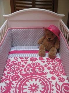 More pink & grey bedding