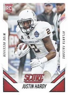 2015 Score #405 Justin Hardy Front