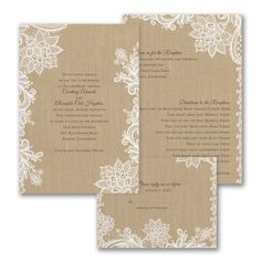 The beautiful design shown on this #white #invitation accents a classic, #romantic touch. Choose an ink color to match your style. #weddinginvitations @foreverfriends_ #weddings http://foreverfriendsfinestationeryandfavors.com