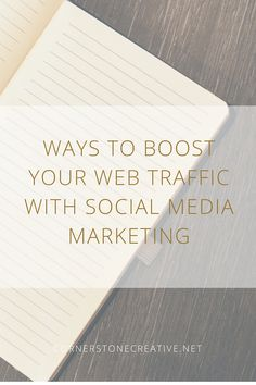 Ways To Boost Your Web Traffic with Social Media Marketing