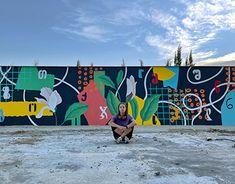 Graffiti Spray Paint, Street Art Graffiti, Fields, Illustration, Outdoor Decor, Painting, Painting Art, Paintings, Illustrations