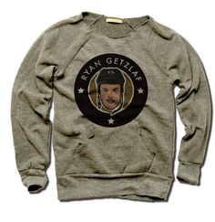 Ryan Getzlaf Officially Licensed NHLPA Anaheim Women's MANIAC Sweatshirt S-XL Ryan Getzlaf 3 Stars K