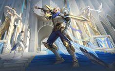 Mobile Legends Hero and Skin Release Dates Schedule Wallpaper Mobile Legends, Alucard Mobile Legends, Hero Wallpaper, Mobile Wallpaper, Locked Wallpaper, Carmilla, Bang Bang, Ranger, Fantasy Art