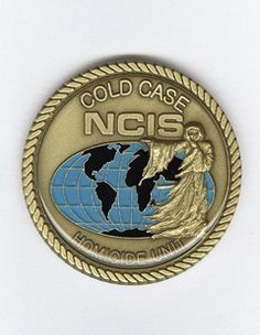 NCIS Cold Case Coin, NCIS Caps, Clothing and Gear ~ at Streepwear