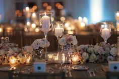 Blush pink, ivory and gold wedding decor