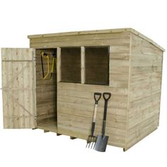 Garden Sheds Quick Delivery shedswarehouse | hanbury | 6ft x 10ft pressure treated overlap
