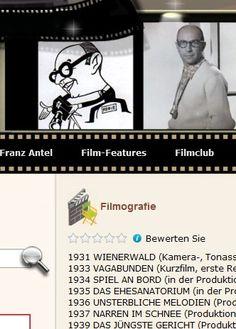 komplette Franz-Antel Filmografie #Austria #Heimatfilm