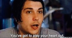 Frank Iero | quote My Favorite Music, Favorite Quotes, Mcr Lyrics, I Love Him, My Love, Frank Iero, Save My Life, Cute Faces, My Chemical Romance