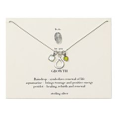 Look what I found at UncommonGoods: Growth Necklace for $55 #uncommongoods