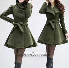 4 colors women's Princess style cape dress Coat di colorstore2011, $88.99