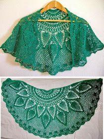 Crochet Lace Capelet tutorial