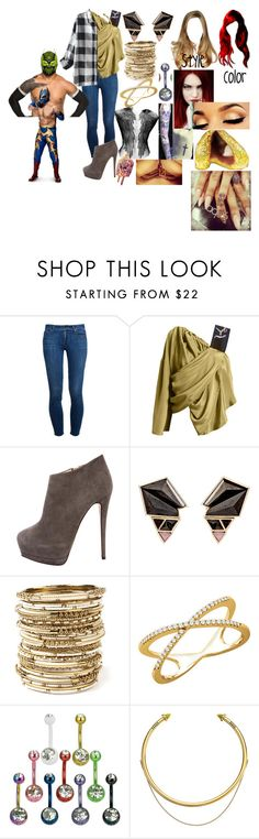 """""""A hardy and the Masked Man(Sin Cara(Hunico) Love Story)"""" by anaeve ❤ liked on Polyvore featuring Paige Denim, Giuseppe Zanotti, Nak Armstrong, Amrita Singh, Wish by Amanda Rose and OBEY Clothing"""