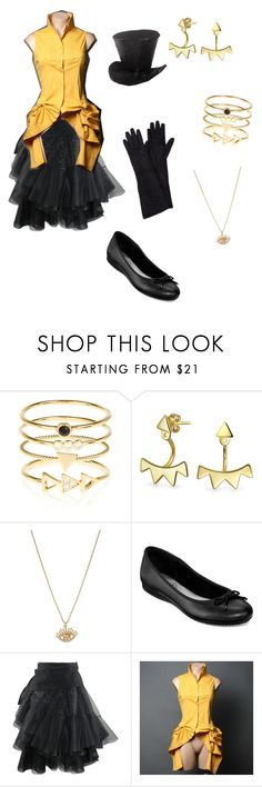 """""""Bill Cipher"""" by dark-wolf98 ❤ liked on Polyvore featuring Accessorize, Bling Jewelry, Betsey Johnson and St. John's Bay"""