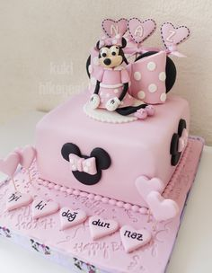 minniemouse cake