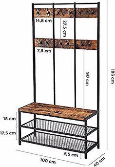 Teaktische - New ideas Welded Furniture, Iron Furniture, Steel Furniture, Farmhouse Furniture, Industrial Furniture, Home Furniture, Furniture Design, Wood Steel, Wood And Metal