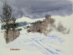 Neige au Mont Ventoux