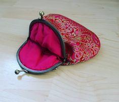 #portamoedas #pink #vermelho #dourado #bronze #purse #red #gold
