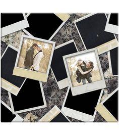 "Vintage Photos Post Bound Scrapbook 12""X12""-"