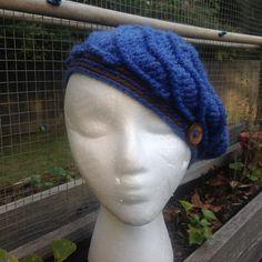 Winter beret for children by Mywaycrochet on Etsy