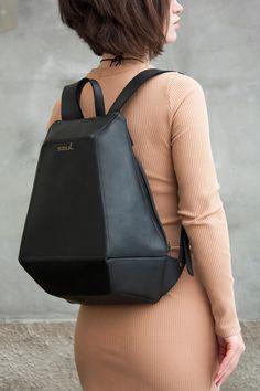 Leather black backpack Women backpack Black rucksack Backpack | Etsy Satchel Backpack, Backpack Travel Bag, Fashion Backpack, Unique Backpacks, Brown Backpacks, Mens Travel Bag, Travel Bags For Women, Black Leather Backpack, Wallets For Women Leather