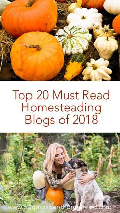Do you love to follow homesteading blogs? Click here to see a great list of must read homesteading blogs of 2018 for your homesteading inspiration. #homesteading #homesteadingblogs #blogging via @ourprovidenthom