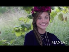 Dance Moms - Maddie Ziegler modeling for Maniac Magazine ; Behinde the S...