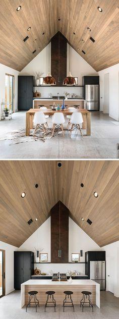 Уютное современное шале Amande в Межеве, Франция Chalet design - holz decke haus design bilder