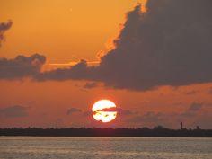 Sunset, July 4, Sanibel, 7-6-14, Sanibel, Captiva & Fort Myers Fishing Reports & Charters.