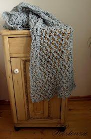 Hortenzie: Háčkovaný šál