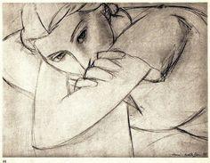 MATISSE SIGNED LITHOGRAPH w/COA. Henri Matisse THE MOST BEAUTIFUL 1935 RARE ART #Impressionism
