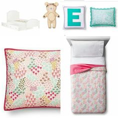 Target pillow fort room & Amazon bed