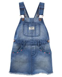 Embroidered Denim Jumper | Carters.com
