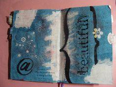 beauty art journaling