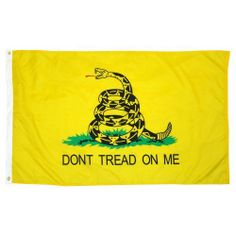 Gadsden TEA PARTY flag 3x5 foot Nylon by SevenBros. $15.50. Two Brass Grommets. 3 feet x 5 feet. Durable Nylon Material!. Outdoor Quality. 100% Made in the USA!. First used by Commodore Esek Hopkins when his fleet was put to sea in February, 1776, the design was borrowed by Colonel Christopher Gadsden of South Carolina and presented to the Continental Congress. Buy authentic Gadsden Flags. Our historical flags are unsurpassed in quality and authenticity. This Gadsden fl...