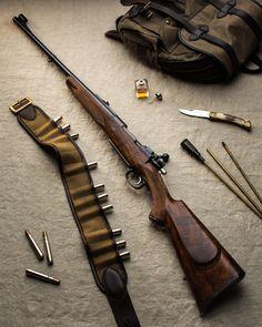 John Rigby .416 Bolt Action rifle on Magnum Mauser.