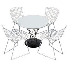 1stdibs.com | Noguchi child's table with 4 Bertoia children's chairs