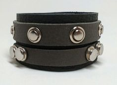 Joxasa Croswell leather cuff.