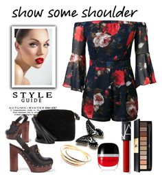 """""""Showing some shoulder"""" by torresmjm-1 ❤ liked on Polyvore featuring Anya Hindmarch, Gucci, Yves Saint Laurent, Cartier and Marc Jacobs"""