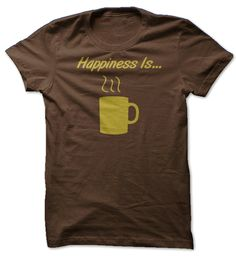 Happiness is...Coffee