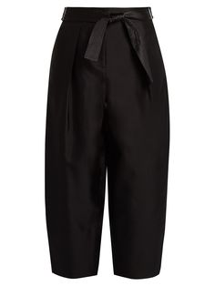 Anderson silk and wool-blend cocoon trousers | Elizabeth And James | MATCHESFASHION.COM US