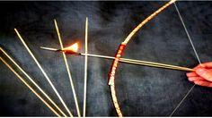 Armas Caseras | Como Hacer un Arco Casero y Flechas