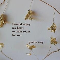 "3,365 Likes, 60 Comments - Gemma troy (@gemmatroy) on Instagram: "". . #writings #poem #instapoets #typewriterpoetry #igpoets"""