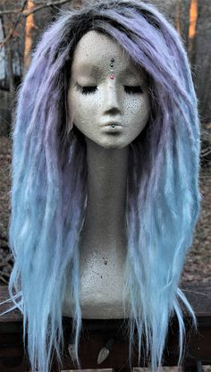 NEW Rushed Shipping option at checkout! Will ship in 4 weeks or less!! Custom Synthetic Lace Front Dreadlock wig * MADE T0 ORDER * * may take up to 8 weeks to complete * Standard option is for the wig as it is shown, without beads or wraps Decorated option is for the wig